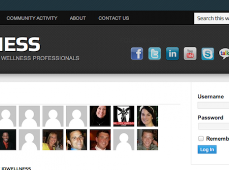 IDWellness is the International Directory of Wellness Professionals is a professional online community, open to anyone around the world who is involved in wellness.