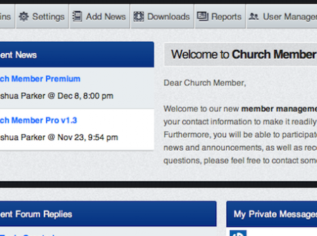 Church Member Premium is a church management system that allows you to keep a database of your users as well as the ability to run ad-hoc reports.